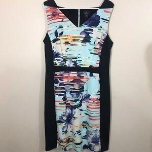 WORTHINGTON DRESS EUC 12 Fitted Sleeveless Black